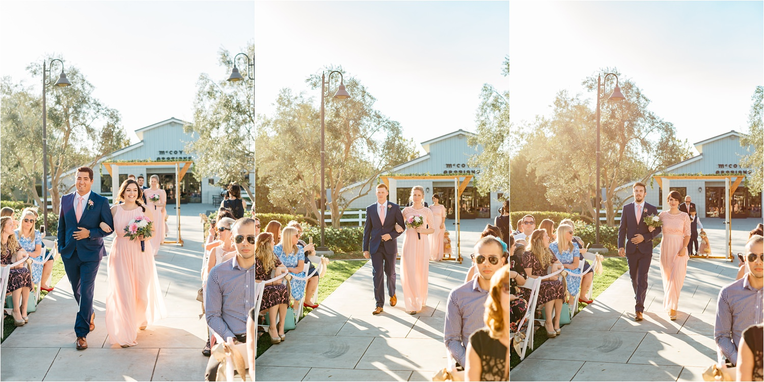 McCoy Equestrian Center Wedding Ceremony - Chino Hills, CA Wedding Photographer - https://brittneyhannonphotography.com