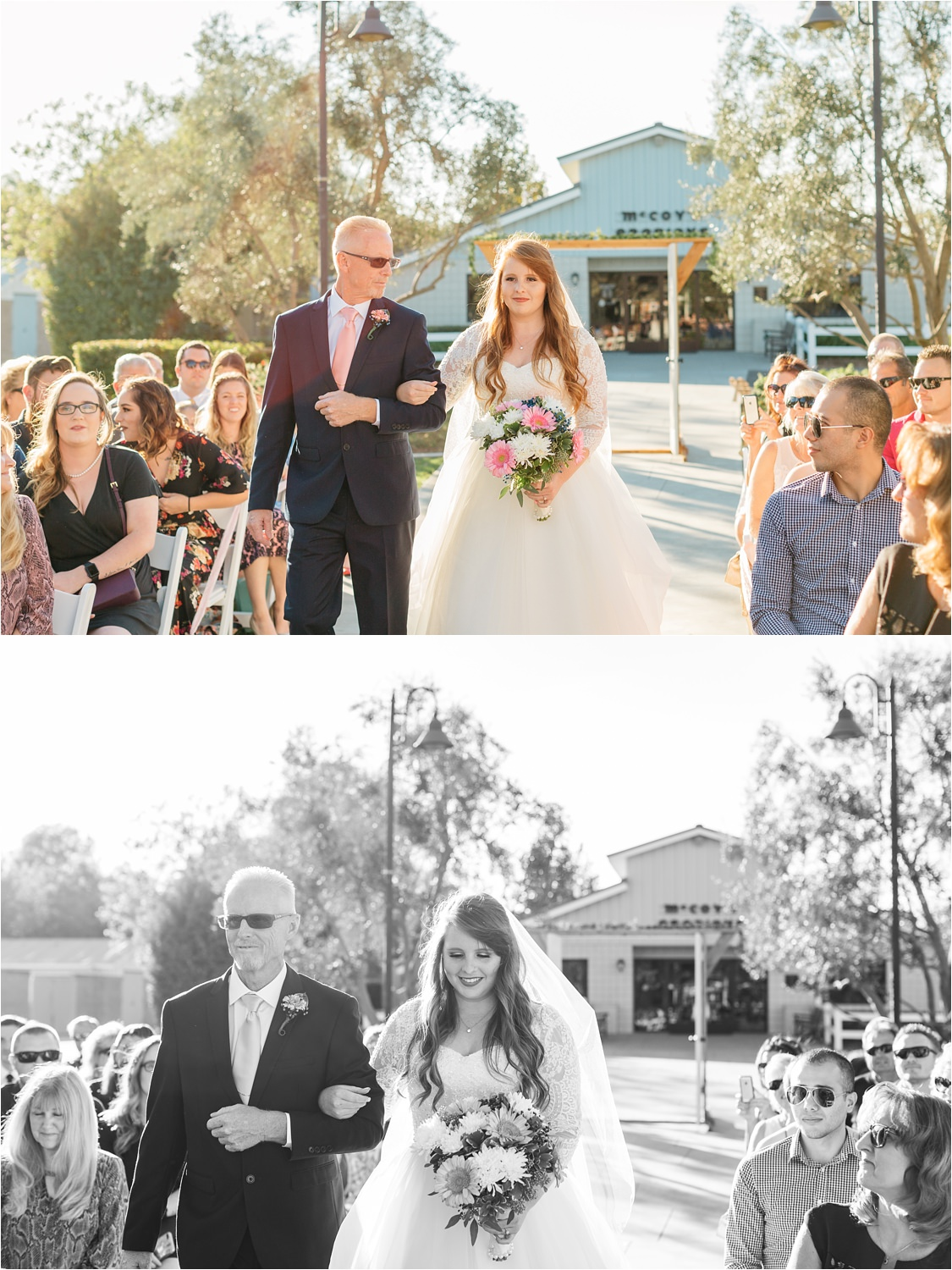 Bride and Groom - McCoy Equestrian Center Wedding Ceremony - Chino Hills, CA Wedding Photographer - https://brittneyhannonphotography.com