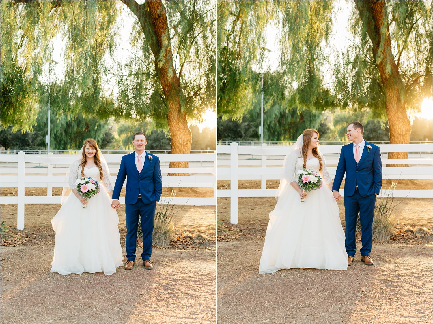 Romantic Fall Wedding in Southern California - Fall Colors - https://brittneyhannonphotography.com