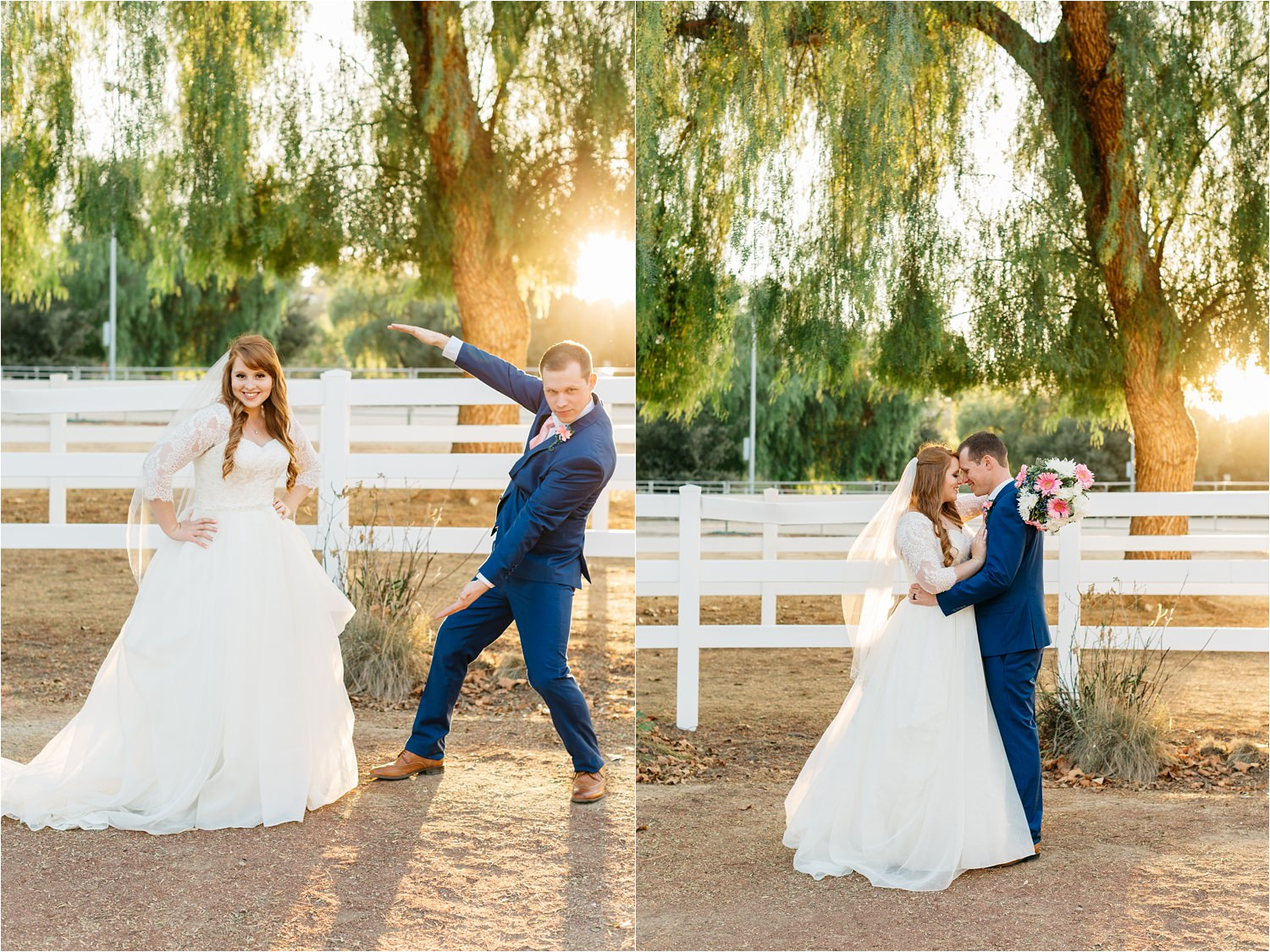 McCoy Equestrian Center Wedding - Bride and Groom Photos - Chino Hills, CA Wedding Photographer - https://brittneyhannonphotography.com