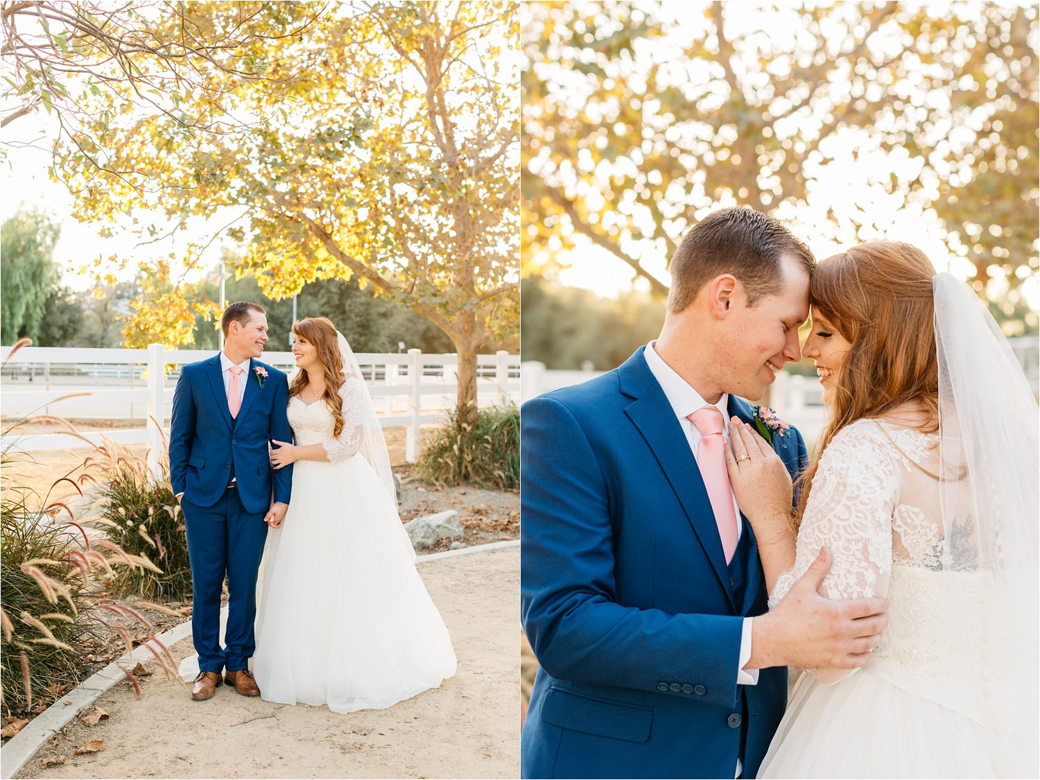 Fall Wedding Inspiration in California - Chino Hills, CA - https://brittneyhannonphotography.com
