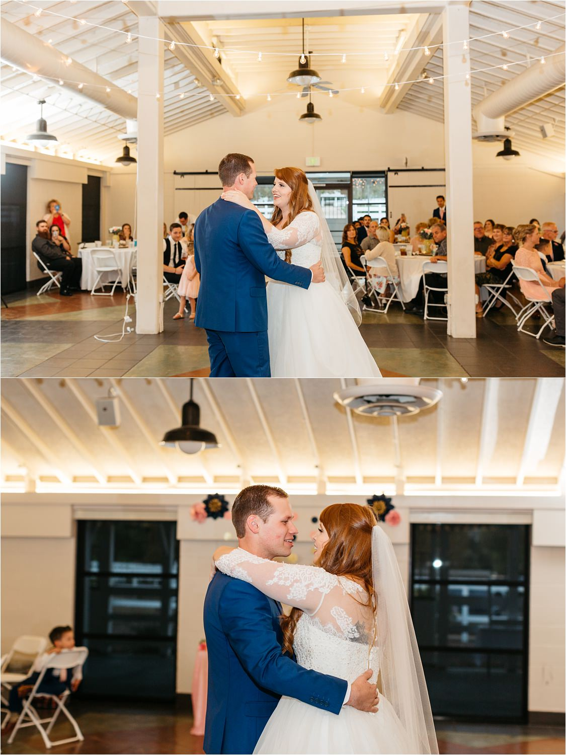 First Dance - Wedding Reception Details - Chino Hills Wedding Photographer - https://brittneyhannonphotography.com
