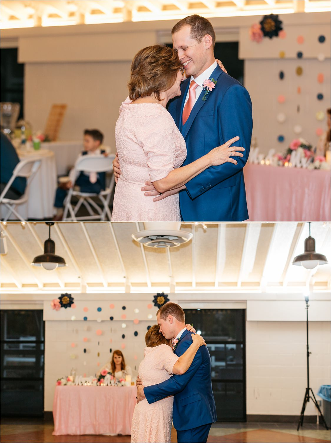 Groom dances with Mom - https://brittneyhannonphotography.com