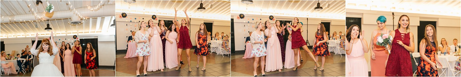 Bouquet Toss - All the single ladies - https://brittneyhannonphotography.com