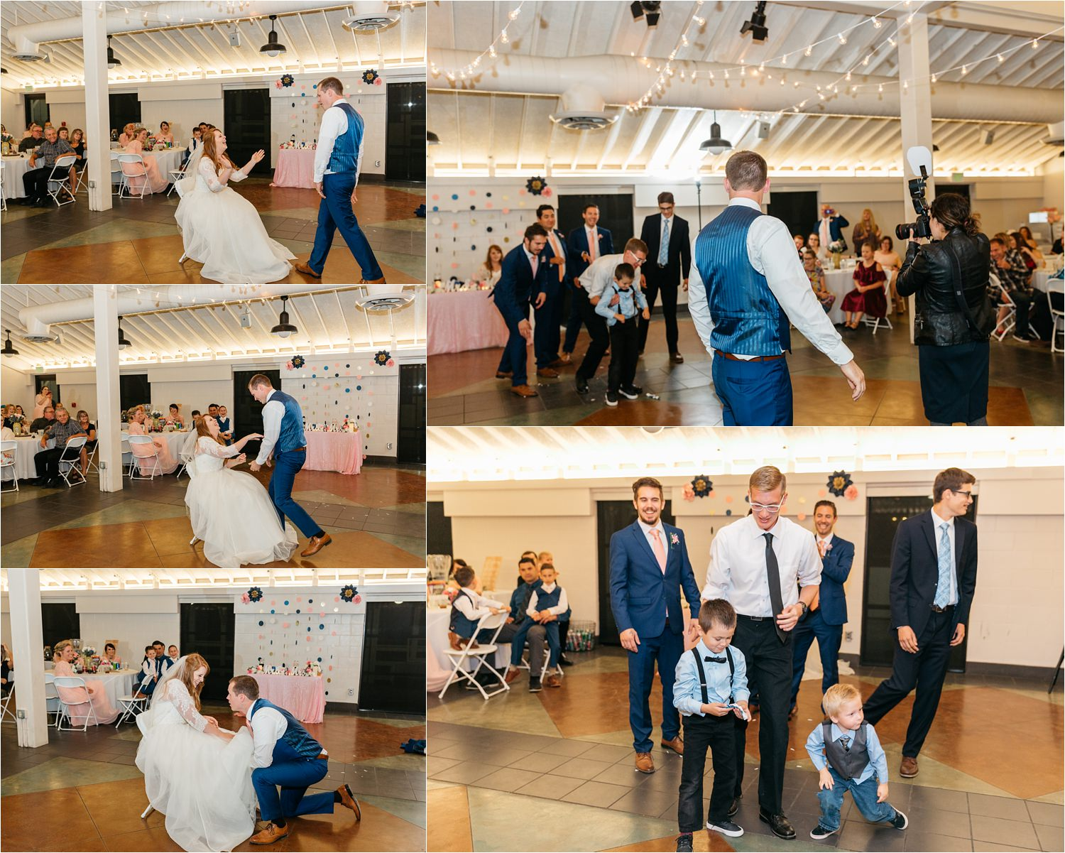Garter Removal and Garter Toss - https://brittneyhannonphotography.com