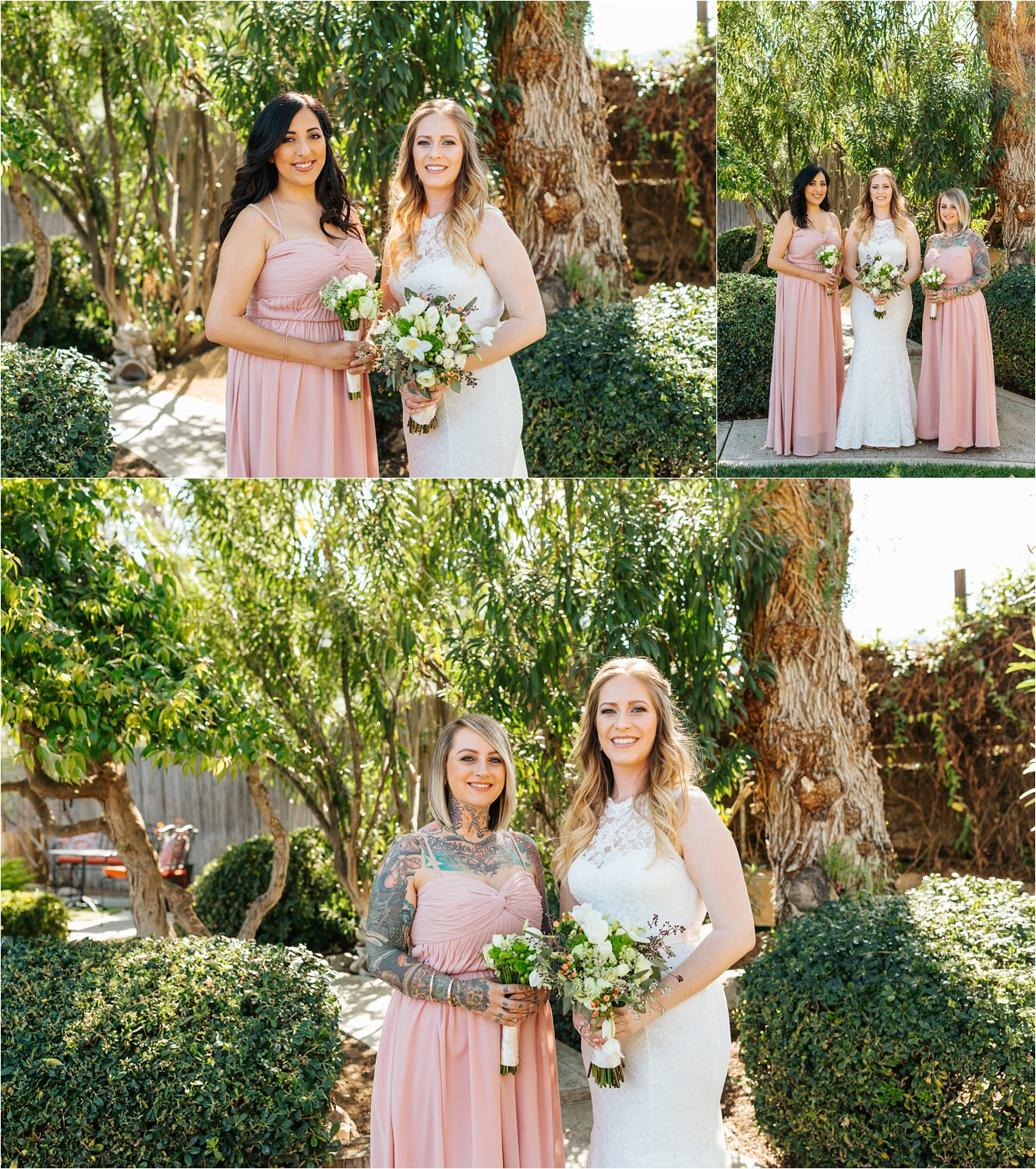 Bride with her best friends - https://brittneyhannonphotography.com