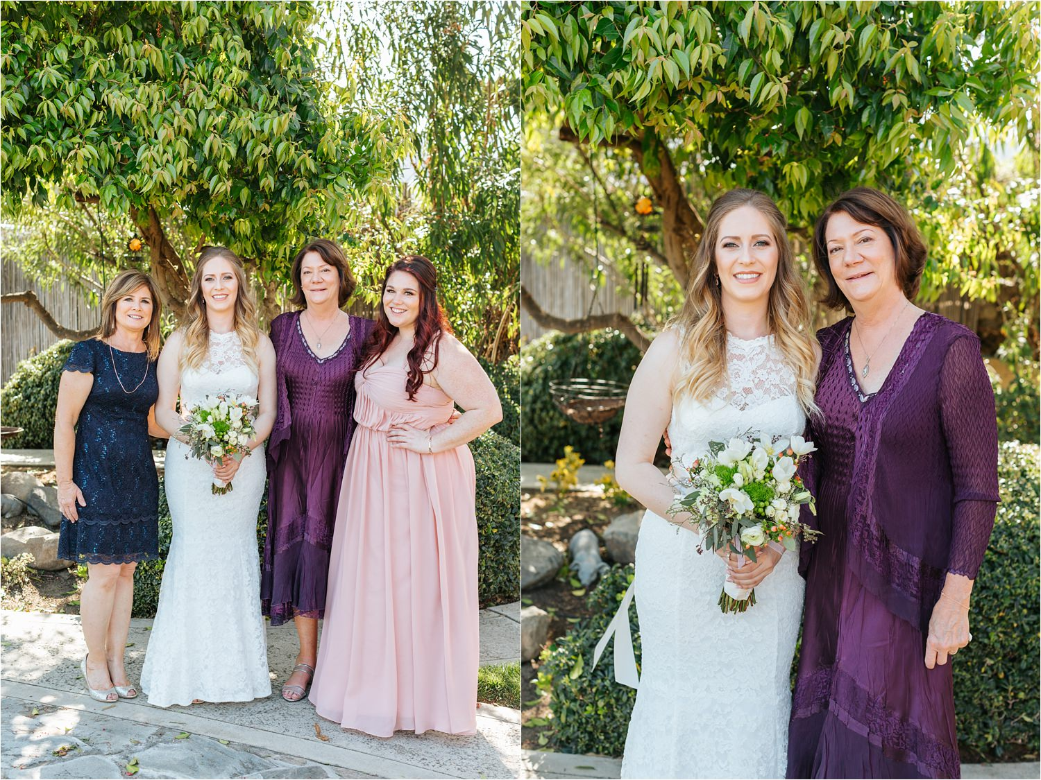 Bride and her family - https://brittneyhannonphotography.com