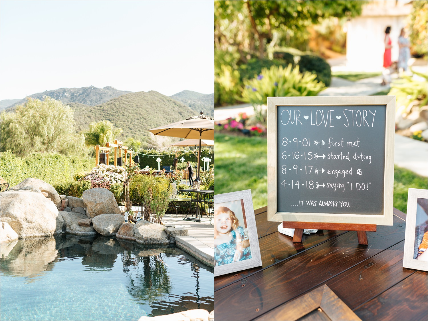 Backyard Wedding - DIY details - California Wedding - https://brittneyhannonphotography.com