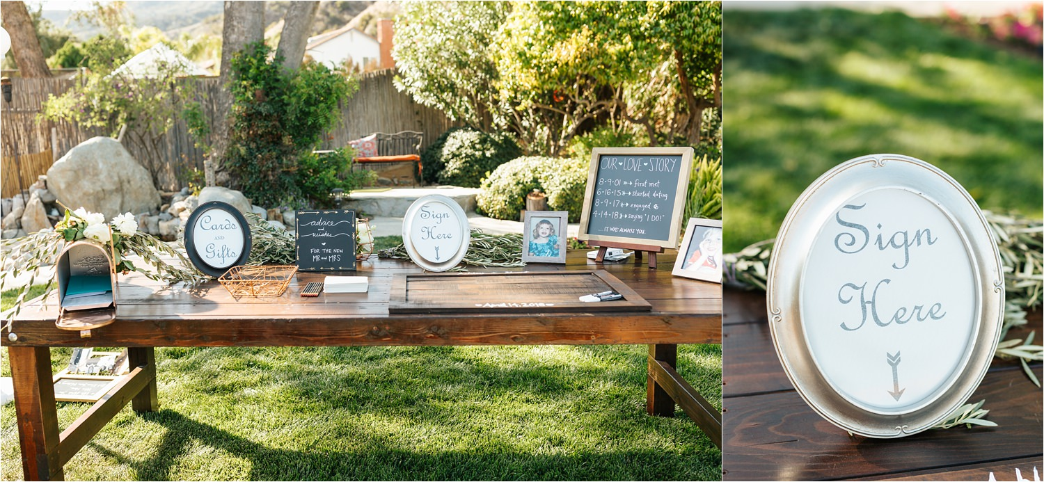 DIY Backyard Wedding Details - Southern California Wedding Photographer - https://brittneyhannonphotography.com