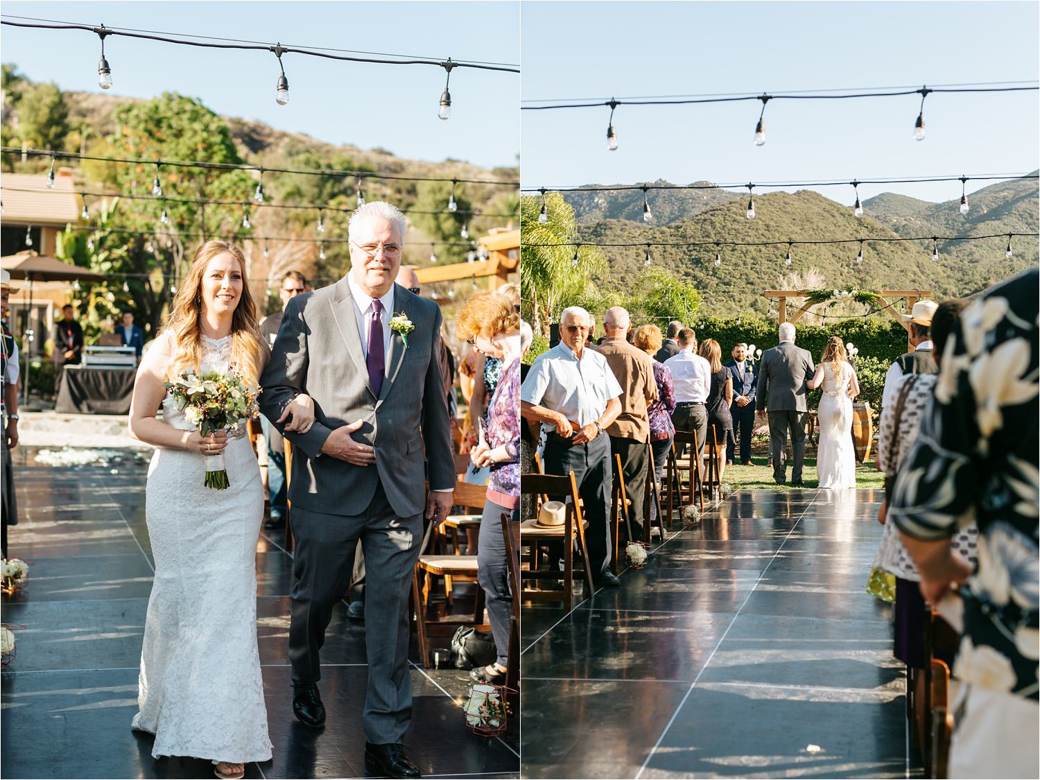 Elegant Backyard Wedding - San Diego Wedding Photographer - https://brittneyhannonphotography.com