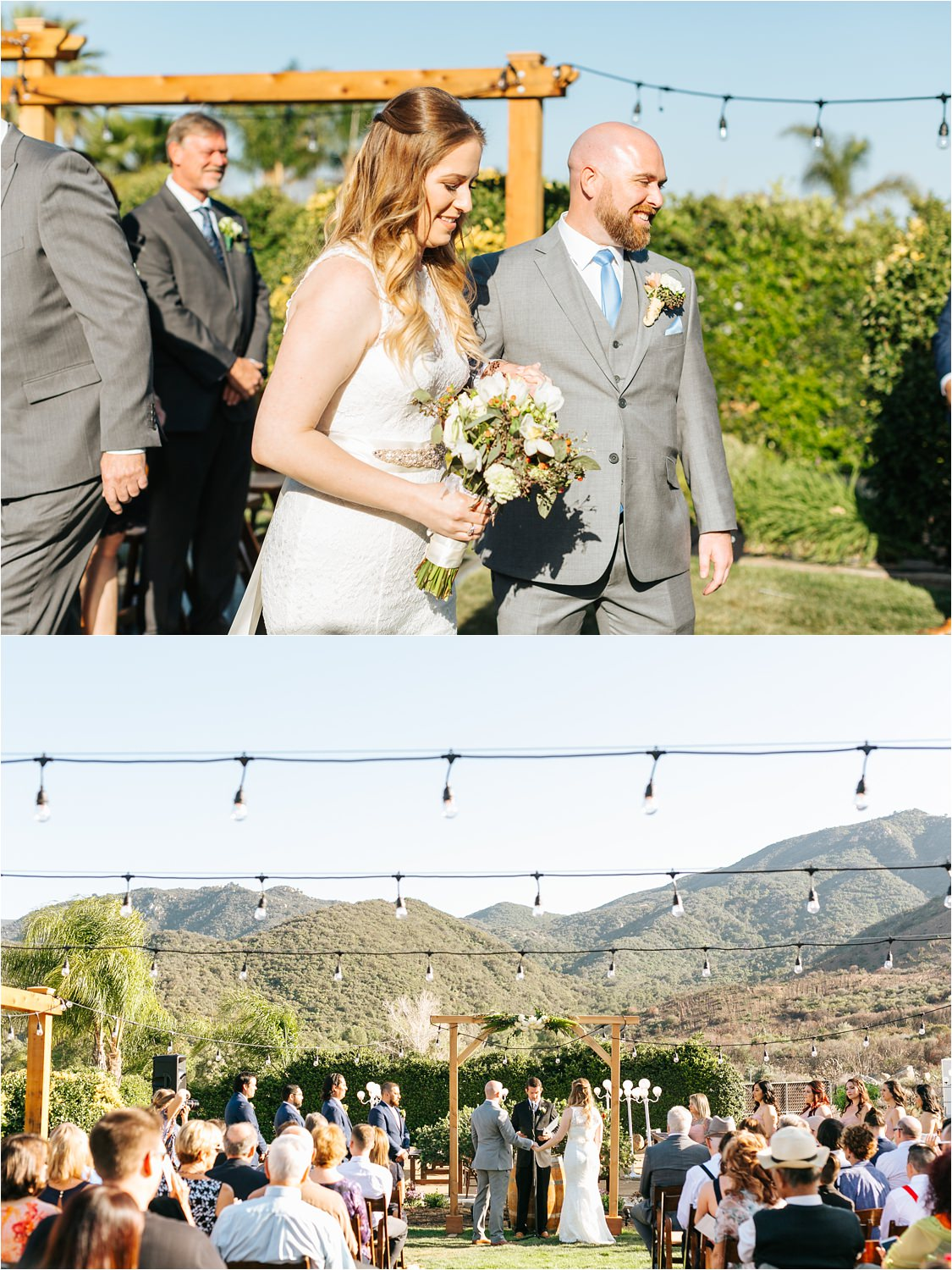 Southern California Wedding Ceremony - Lake Elsinore, CA - https://brittneyhannonphotography.com