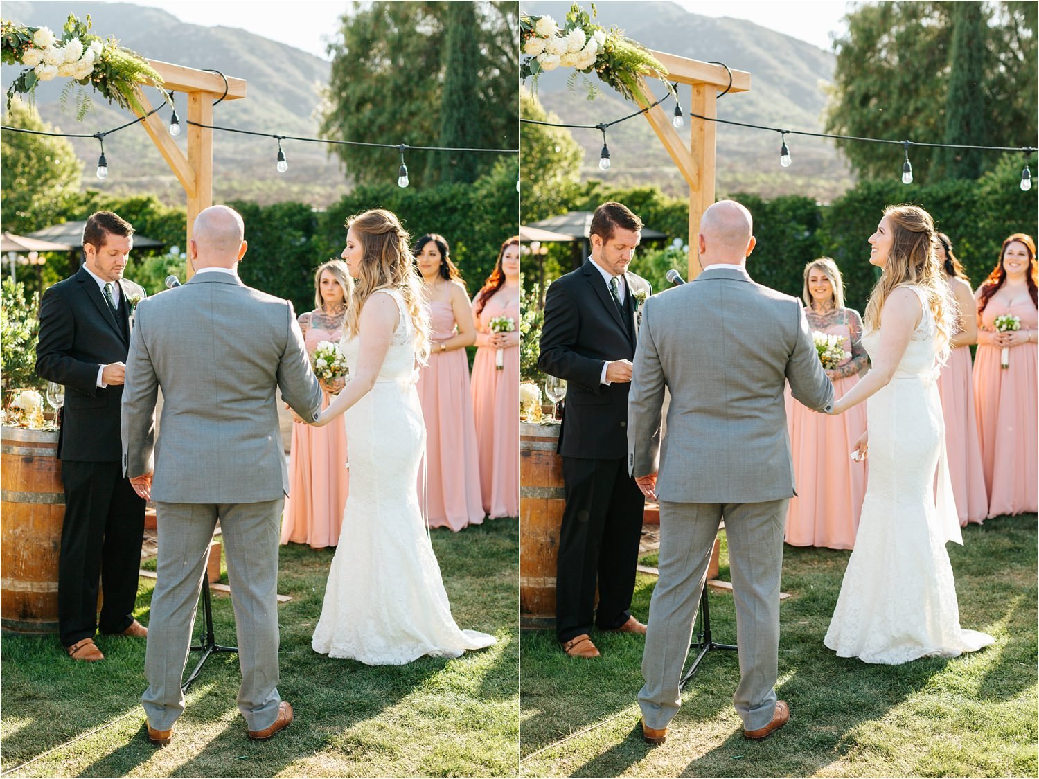 Elegant Wedding Ceremony in Southern California - https://brittneyhannonphotography.com