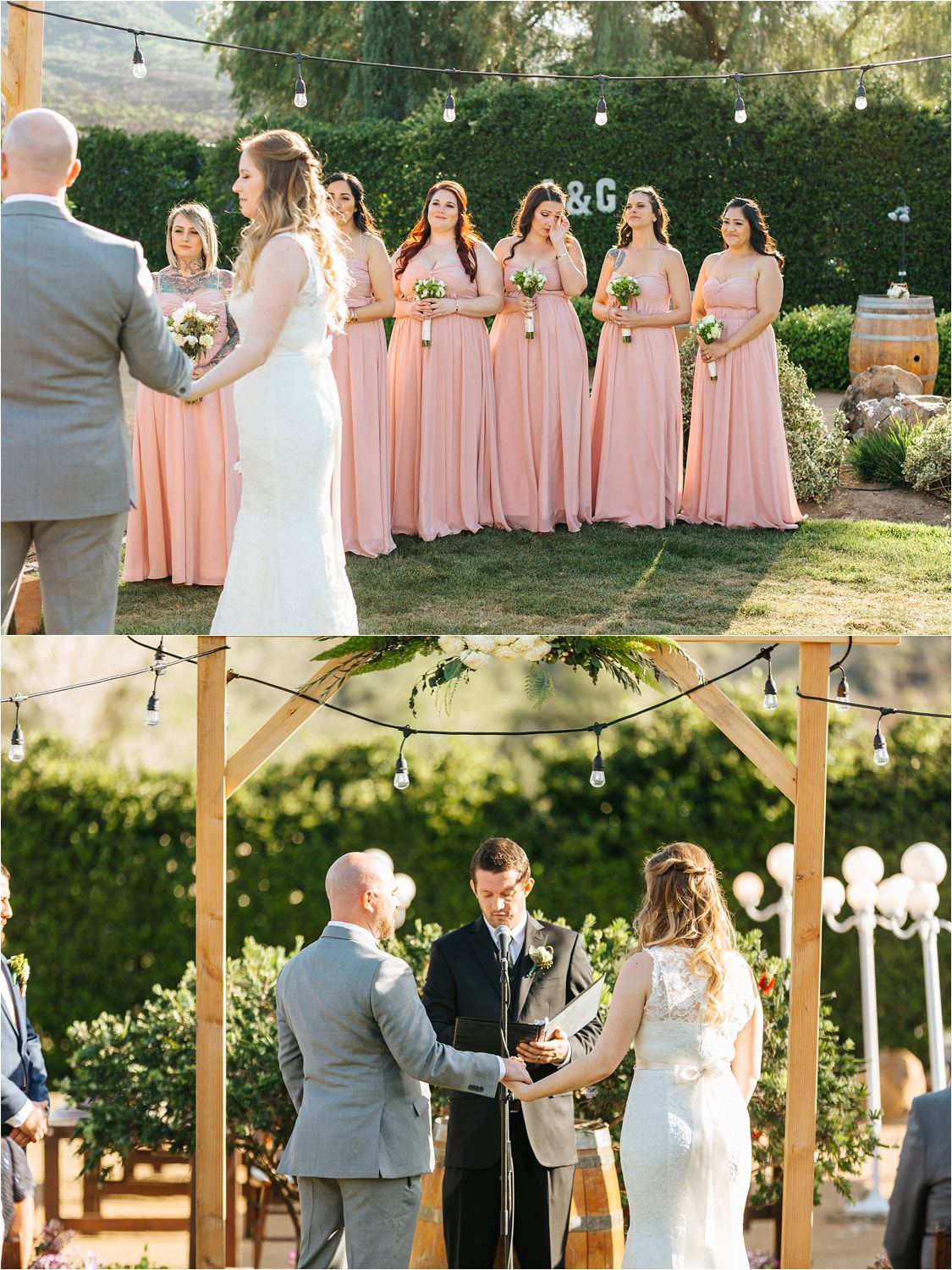 Lake Elsinore Dreamy Backyard Wedding - https://brittneyhannonphotography.com