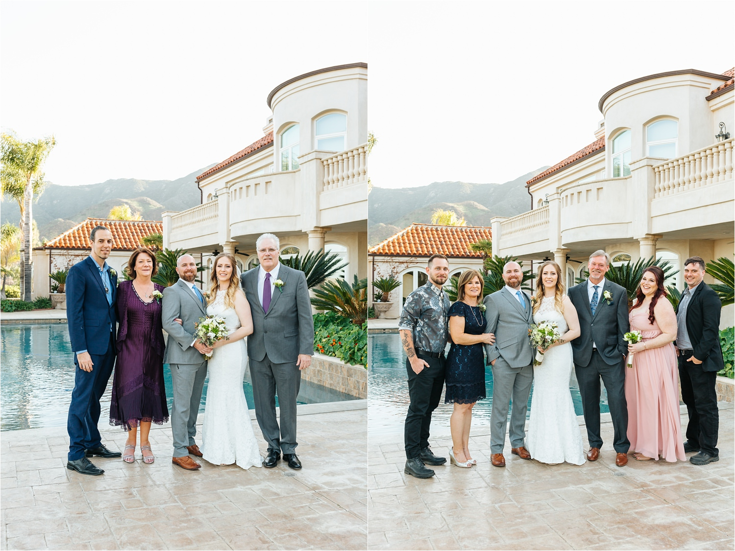 Family Photos at the Wedding - Lake Elsinore - San Diego Wedding Photographer - https://brittneyhannonphotography.com