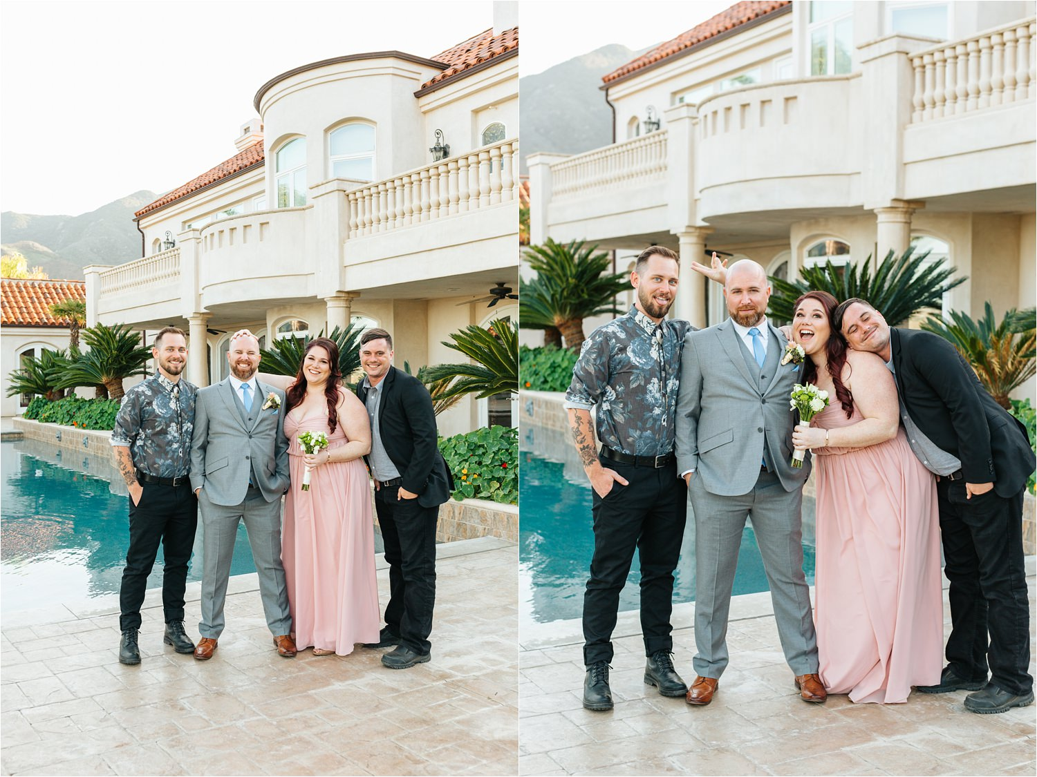 Groom and his siblings - Sibling love - https://brittneyhannonphotography.com