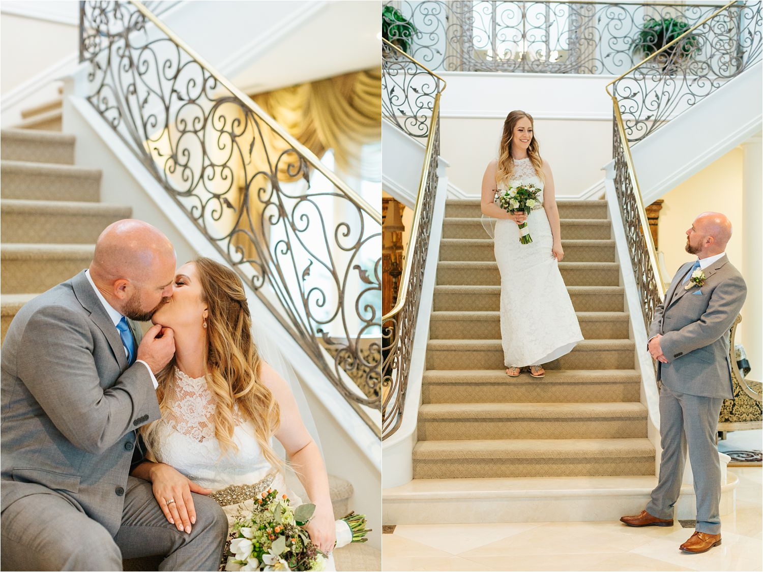 Romantic and Sweet Bride and Groom Pictures - https://brittneyhannonphotography.com