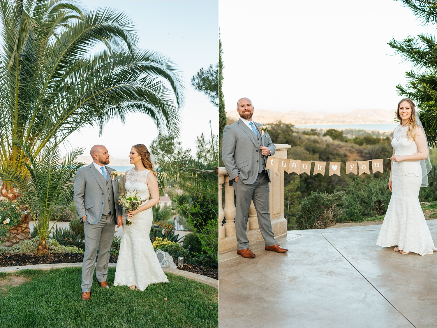 Southern California Backyard Wedding - https://brittneyhannonphotography.com