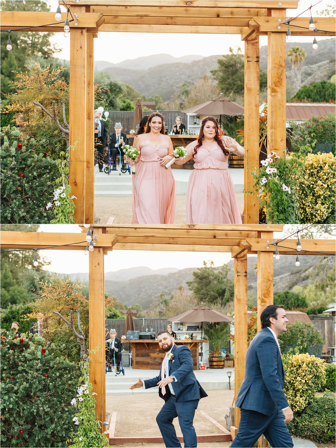 Wedding Party Grand Entrance - https://brittneyhannonphotography.com