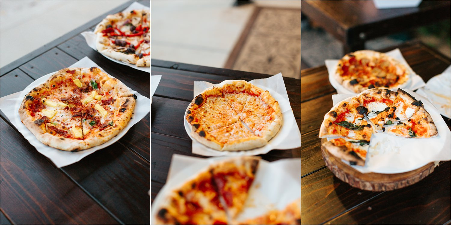 Pizza at the Wedding - https://brittneyhannonphotography.com