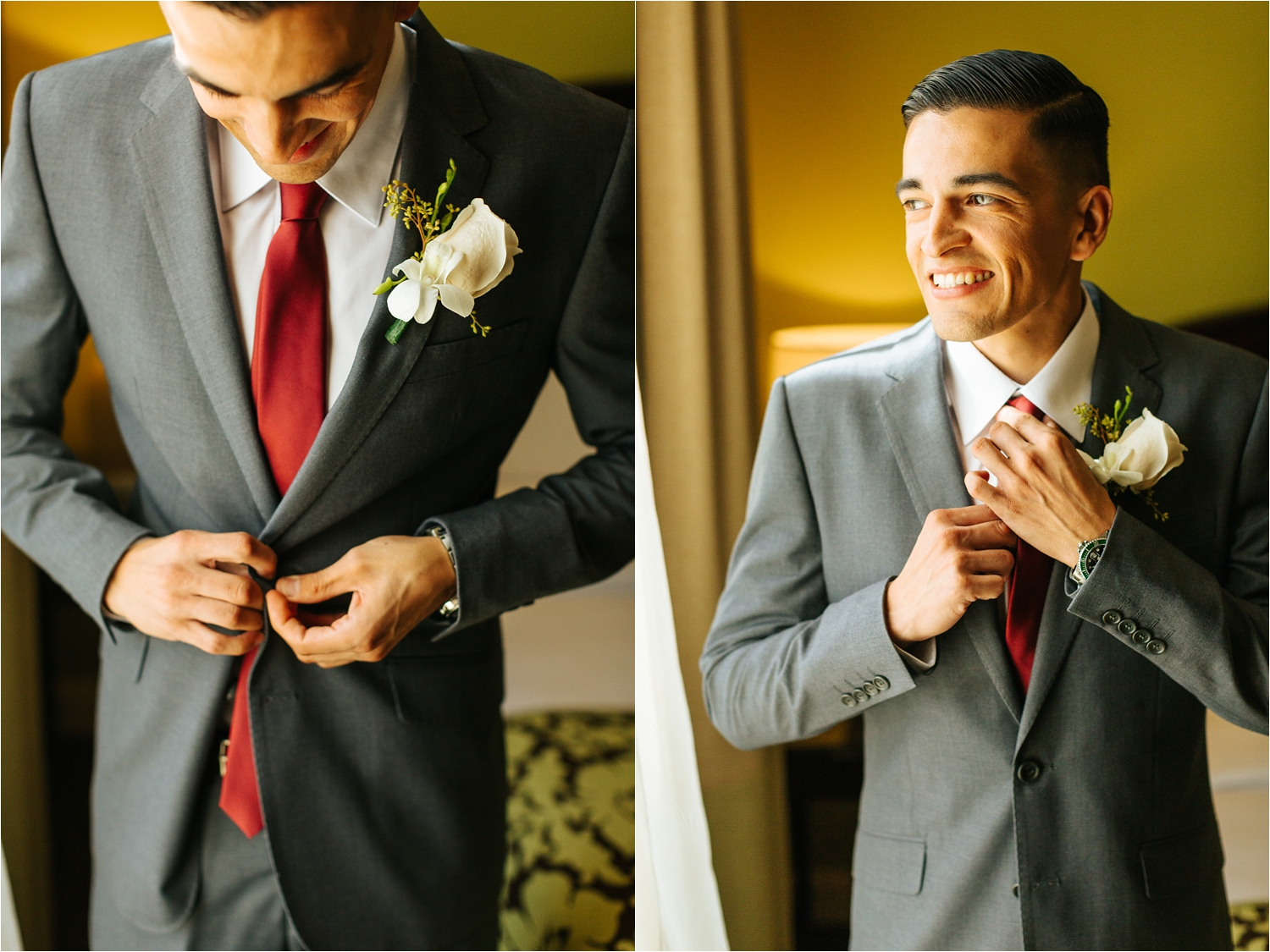 Groom Details - Groom getting ready photos - https://brittneyhannonphotography.com