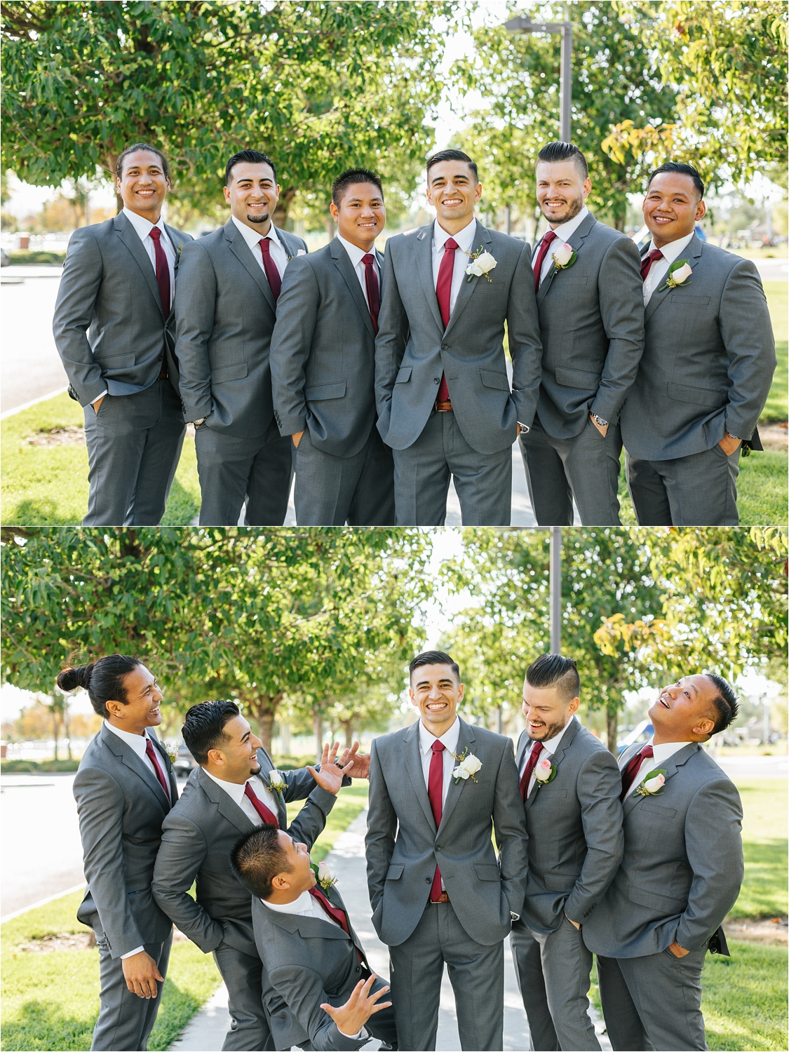 Groom and his groomsmen - https://brittneyhannonphotography.com