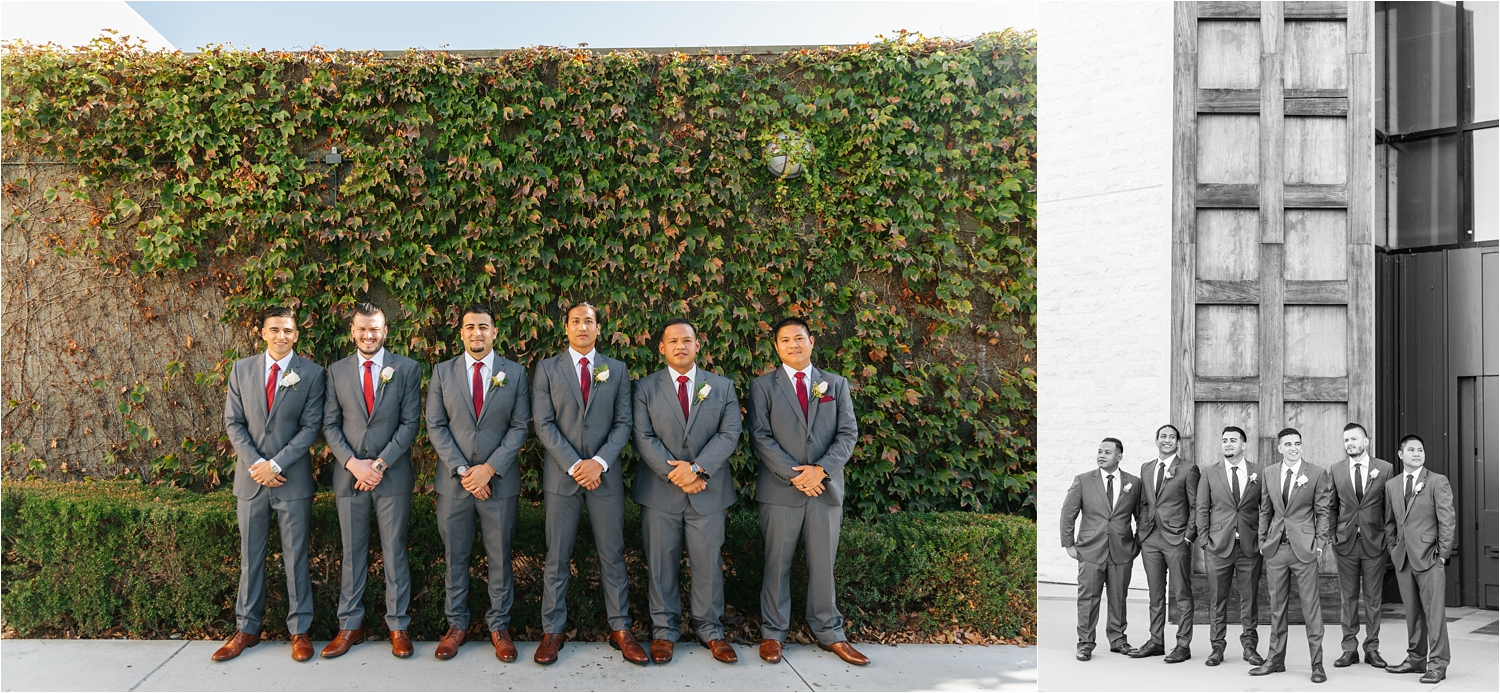 Groom and Groomsmen Photos - https://brittneyhannonphotography.com