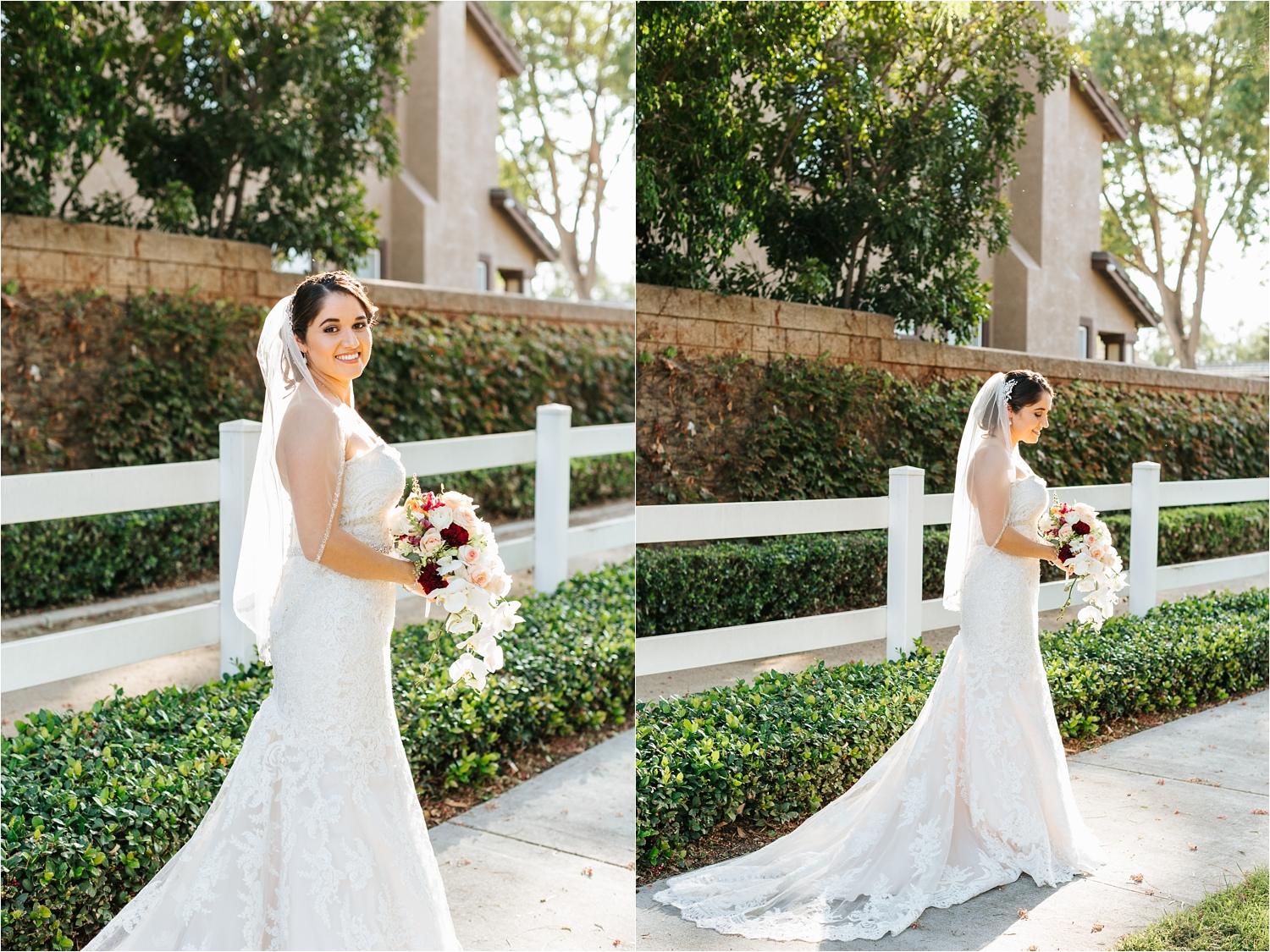 Beautiful bride in her wedding dress - https://brittneyhannonphotography.com