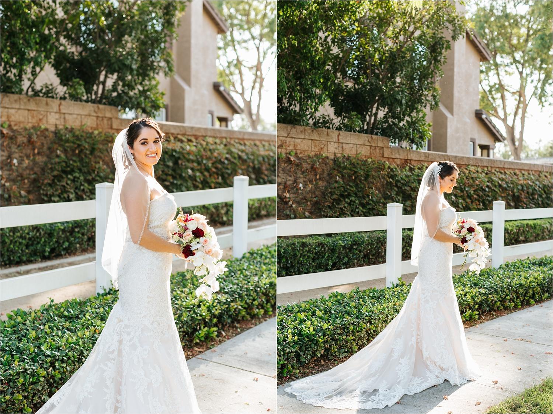Beautiful bride in her wedding dress - https://brittneyhannonphotography.com
