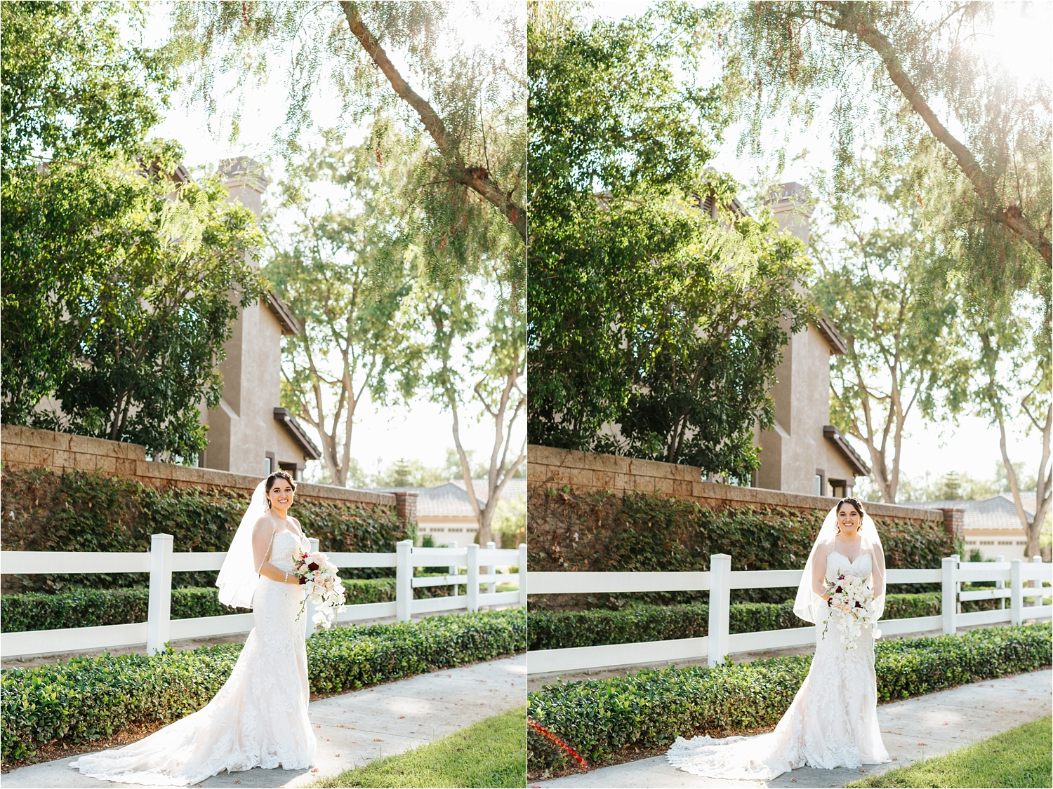Natural Light Wedding Photographer - Bride Portraits in her Wedding Dress - California Wedding Photographer - https://brittneyhannonphotography.com