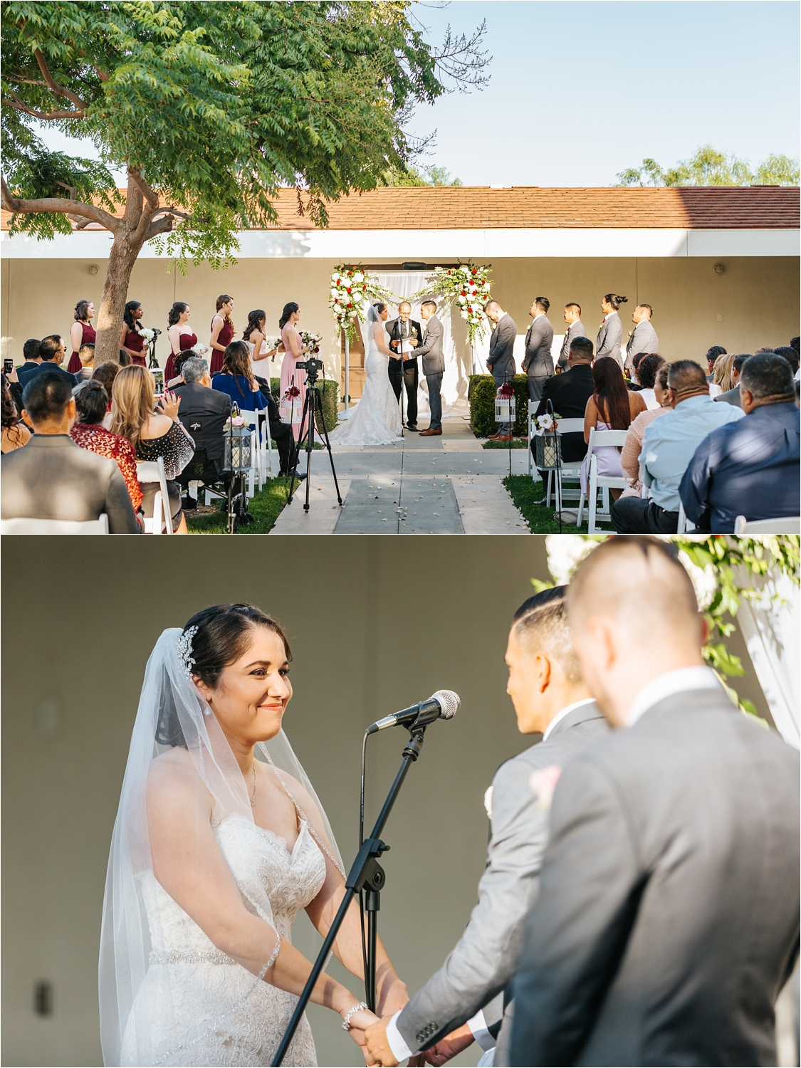 Chaffey College Wedding Ceremony - https://brittneyhannonphotography.com