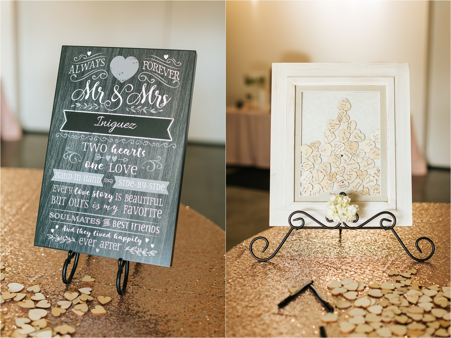 Wedding Reception Details - https://brittneyhannonphotography.com