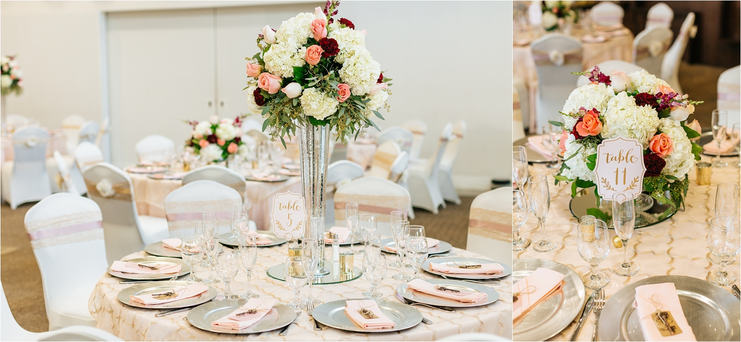Wedding Reception Details - Wedding Centerpieces - https://brittneyhannonphotography.com