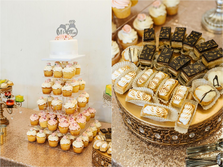 Wedding Desserts - https://brittneyhannonphotography.com