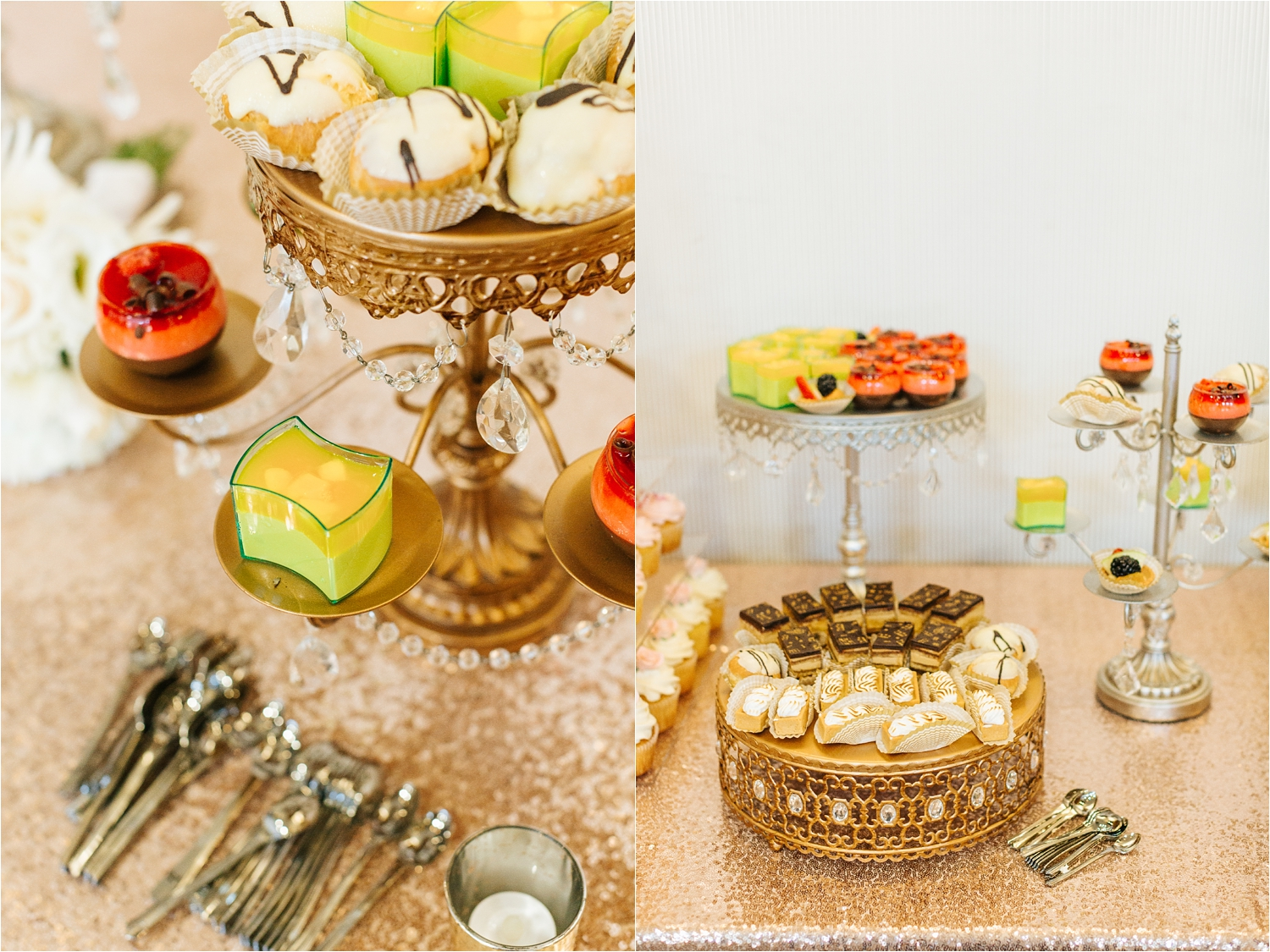 Wedding Reception Details - Desserts - https://brittneyhannonphotography.com