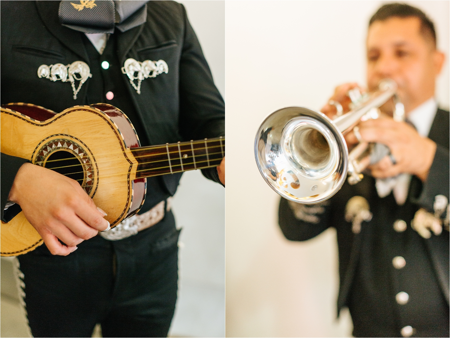 Mariachi Music during the Wedding Reception - https://brittneyhannonphotography.com