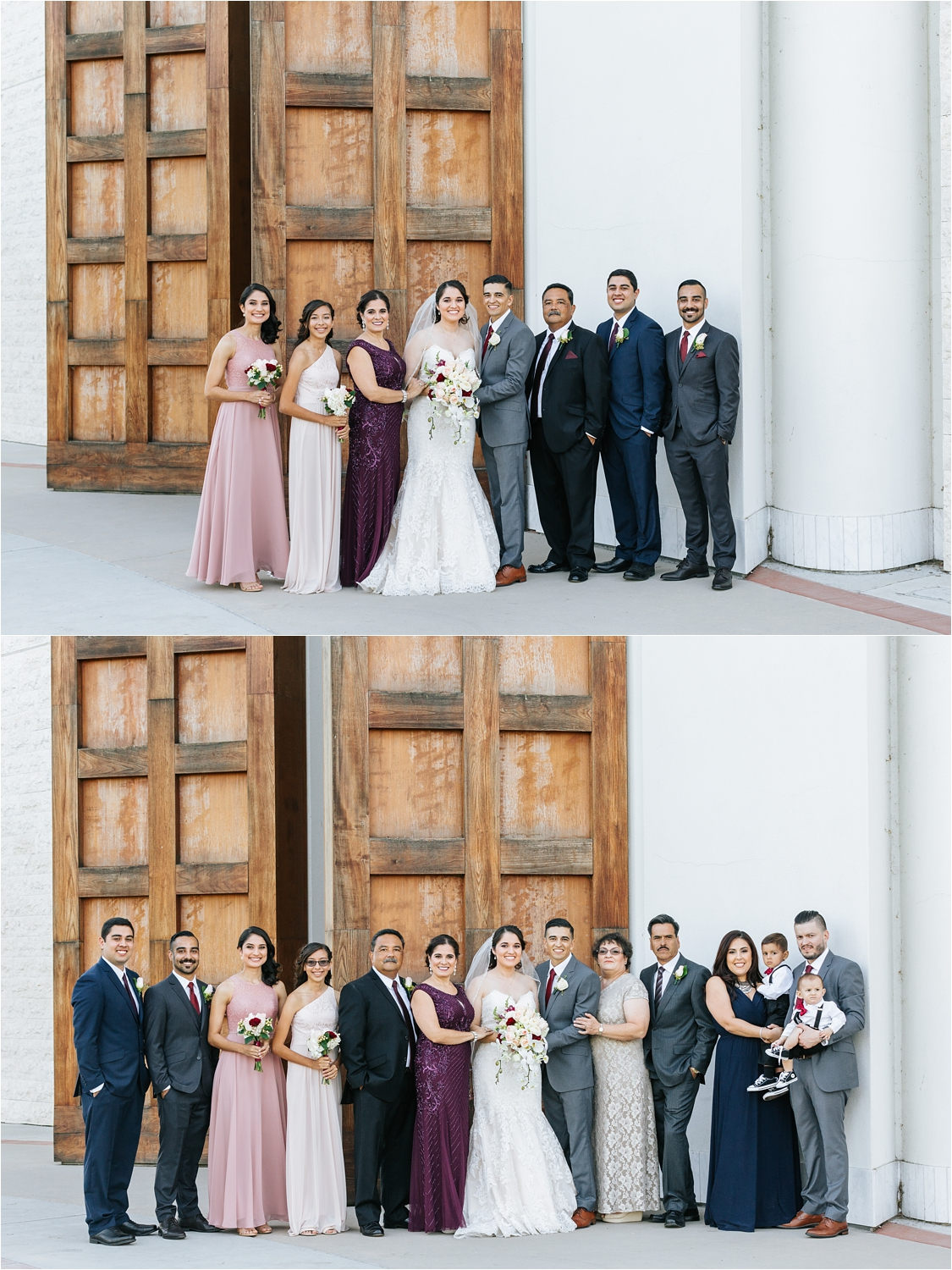 Family Photos at Wedding in Chino, CA - Wedding Photos - https://brittneyhannonphotography.com