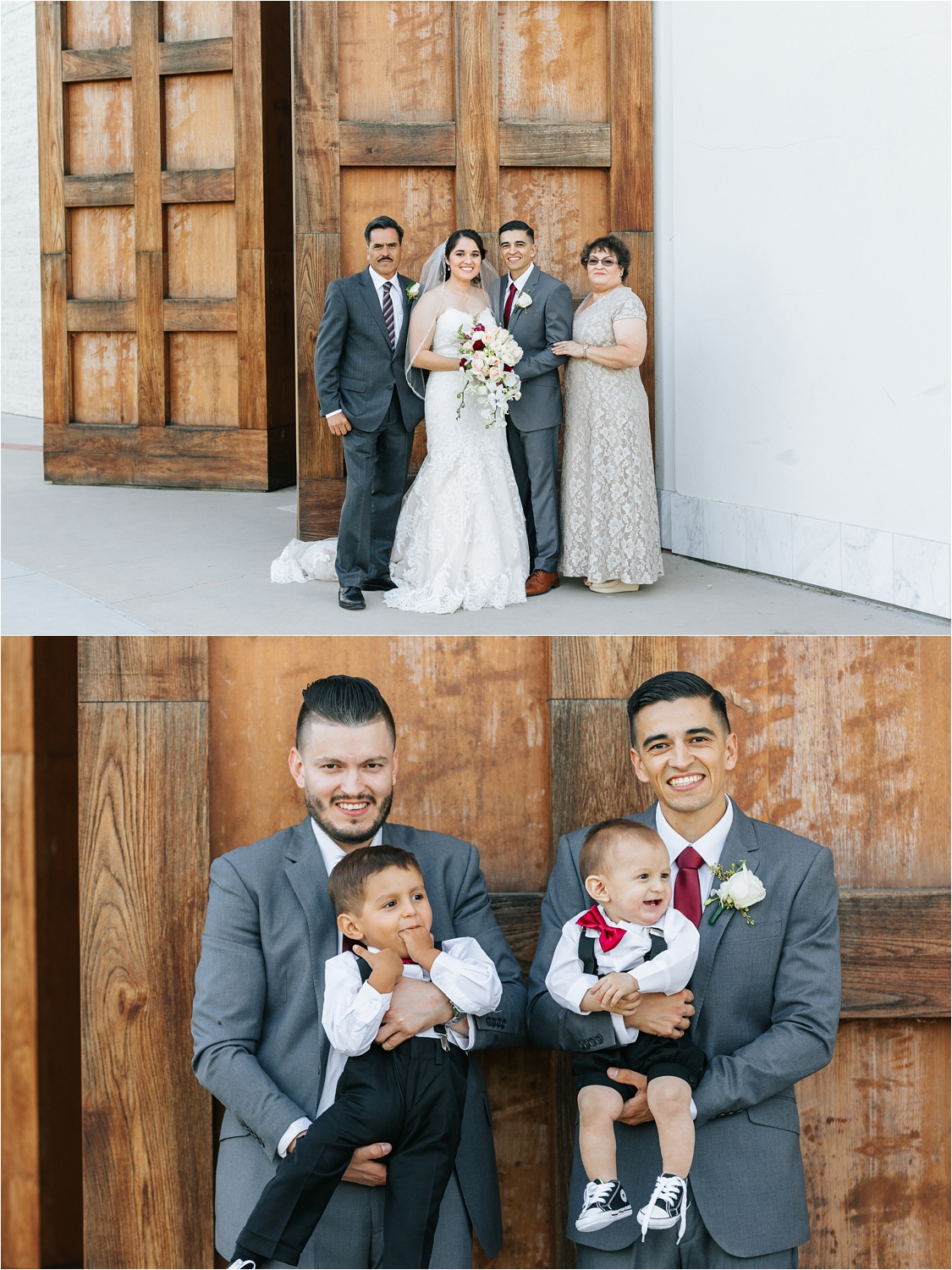 Groom and his family - https://brittneyhannonphotography.com