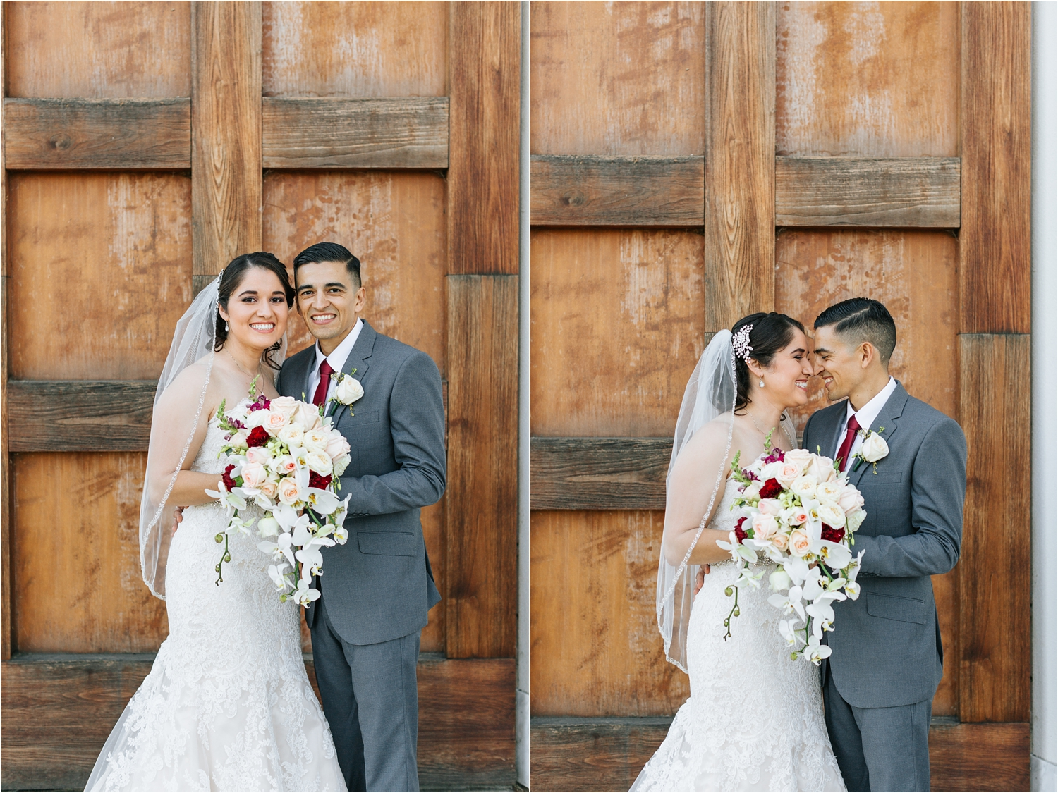 Bride and Groom Photos at Chaffey College - https://brittneyhannonphotography.com