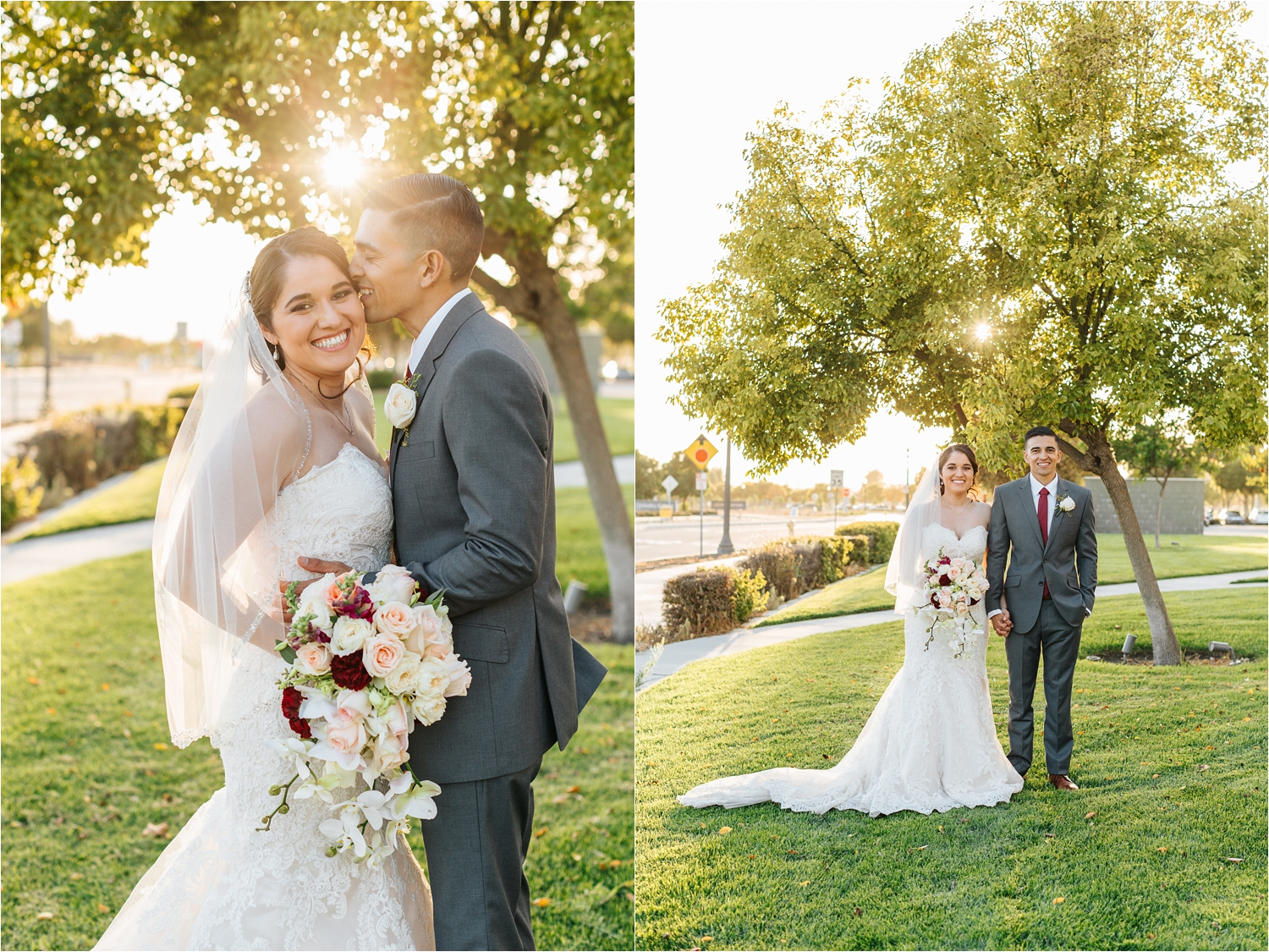 Warm and Natural Wedding Photos in California - Natural Light Wedding Photographer in Southern California