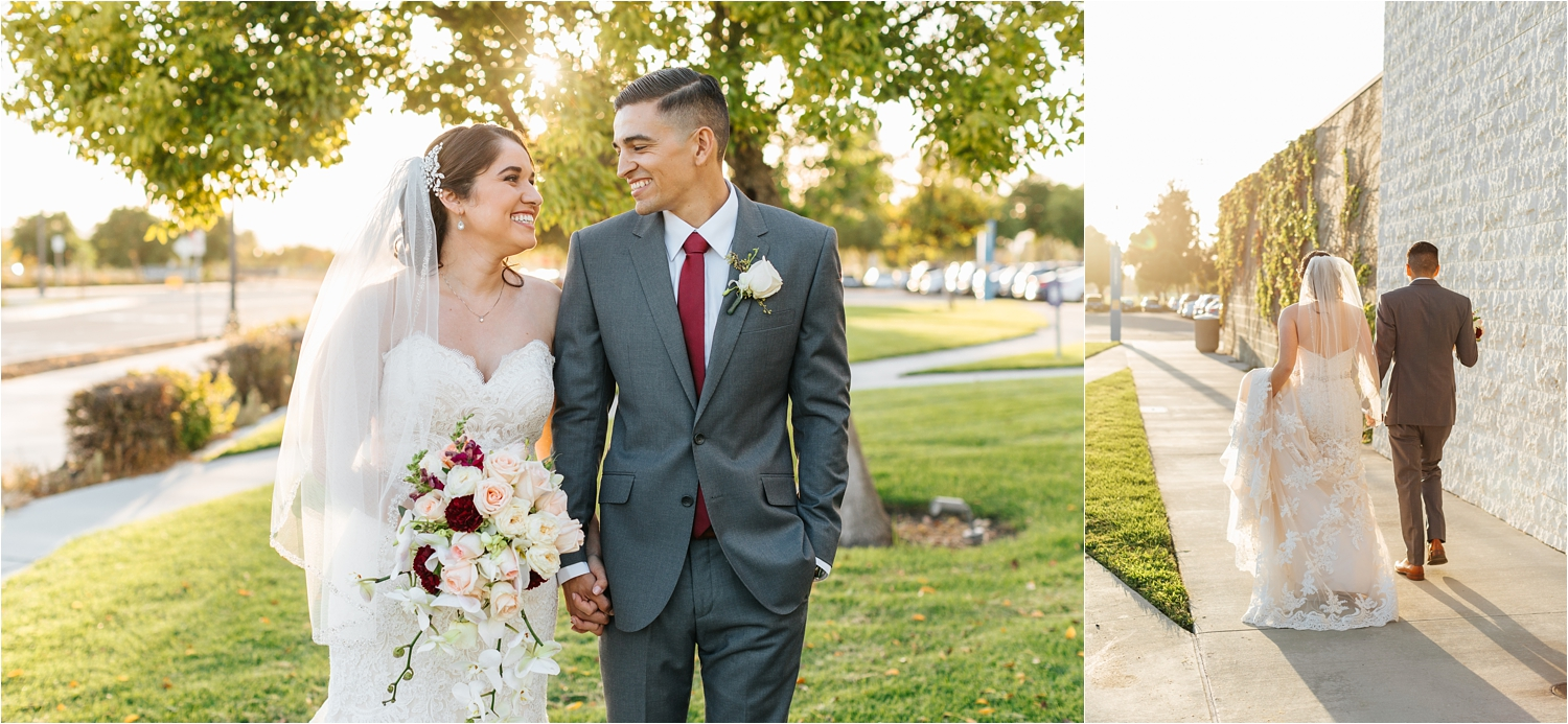 Warm and Romantic Wedding Photos in Southern California - https://brittneyhannonphotography.com