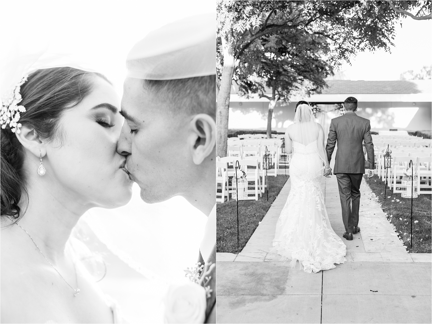 Dreamy Black and White Wedding Photos - https://brittneyhannonphotography.com