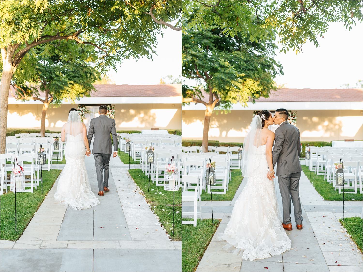 Bride and Groom Walking - California Wedding Photos - https://brittneyhannonphotography.com