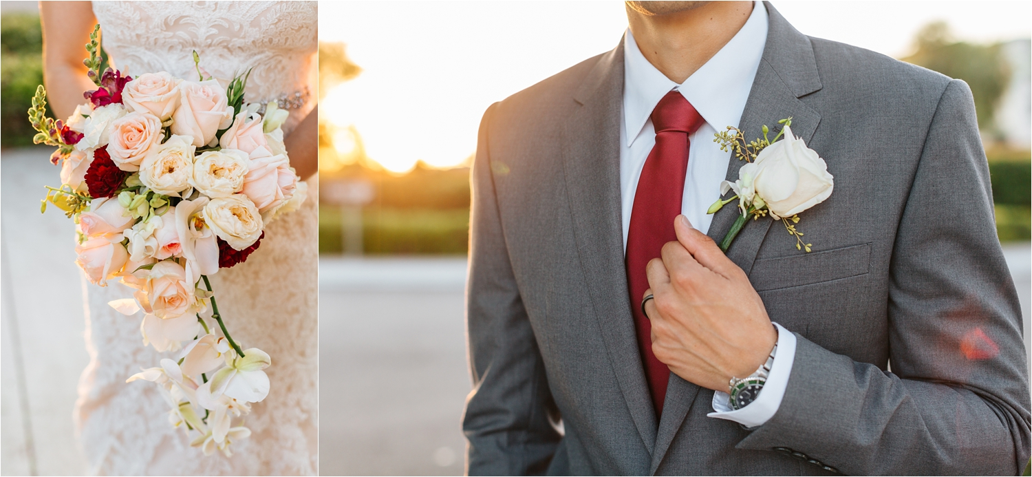 Boutonniere and Bouquet - https://brittneyhannonphotography.com