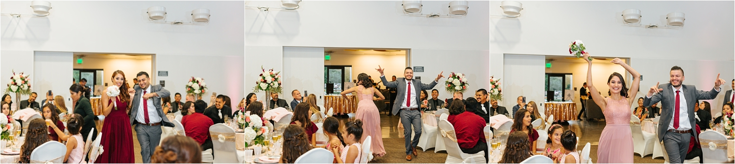 Grand Entrance into the Reception - https://brittneyhannonphotography.com