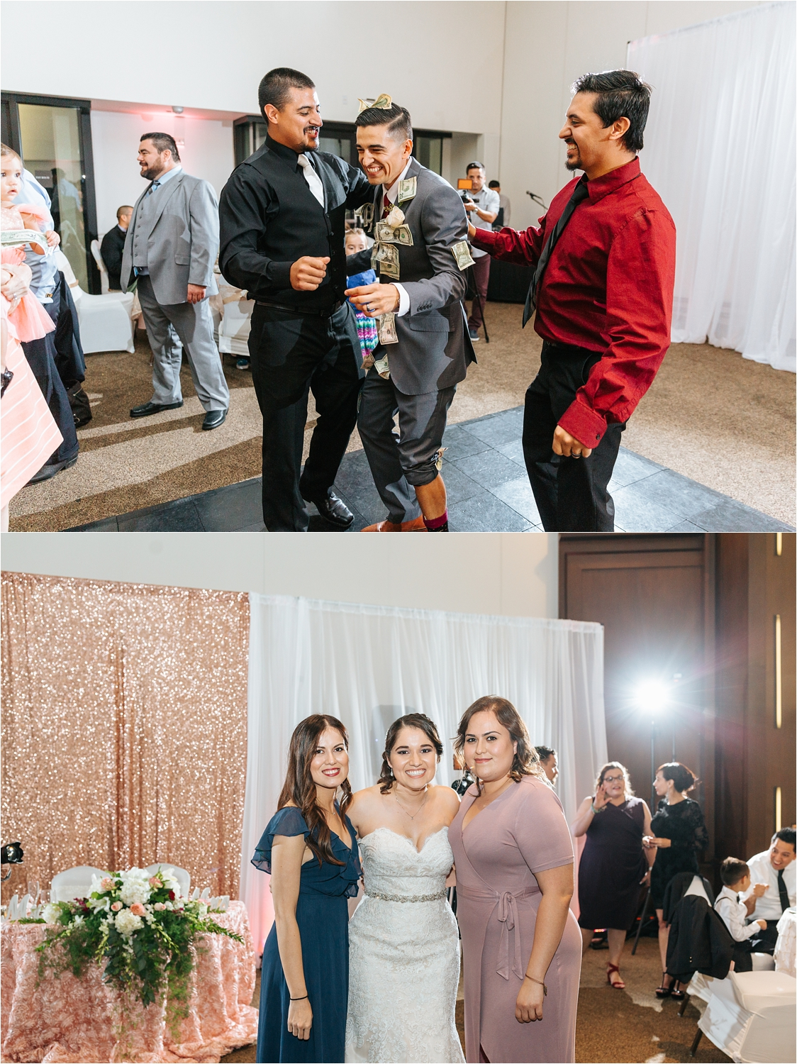 Dancing at the wedding reception - https://brittneyhannonphotography.com