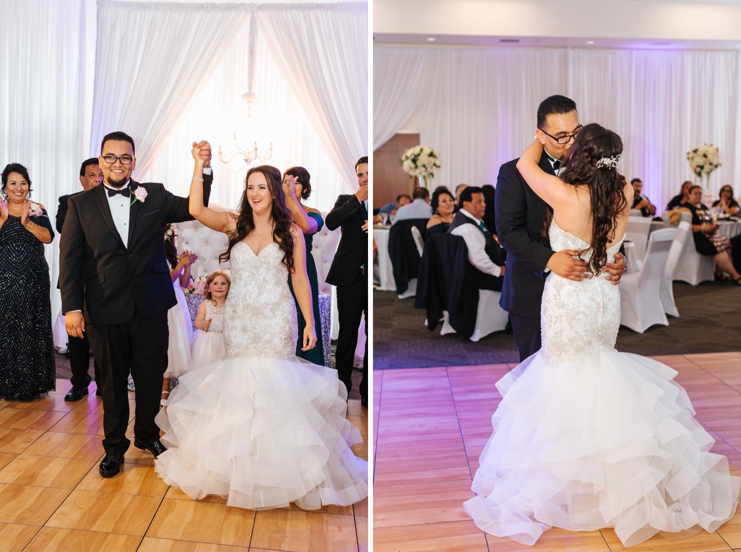 Bride and Groom's First Dance - https://brittneyhannonphotography.com
