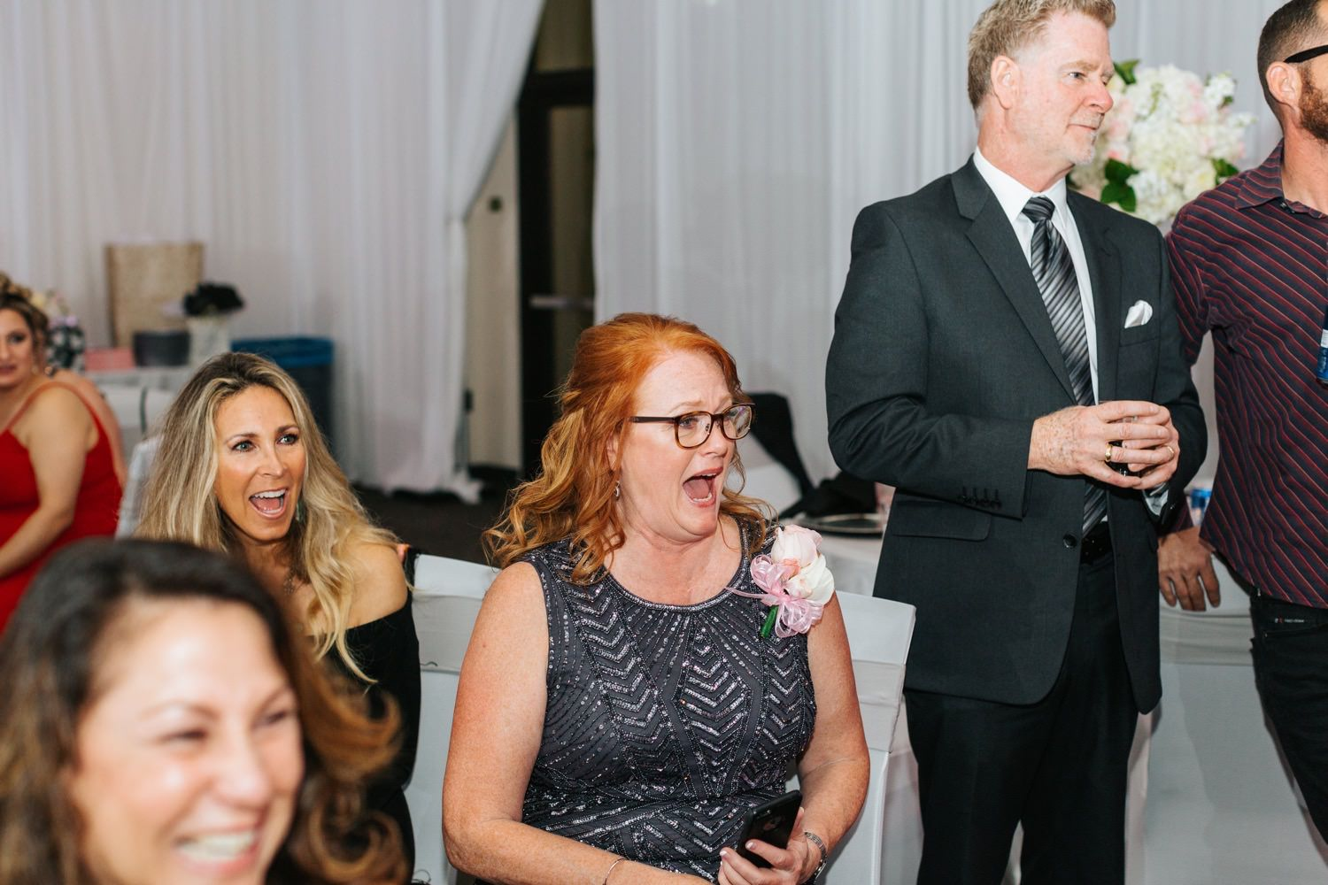 Mom's reaction to bride's surprise dance with her dad