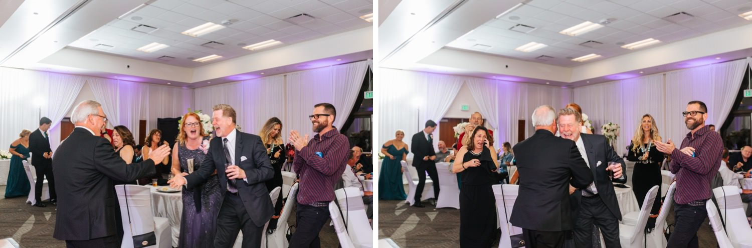 Guests reaction to surprise dance - https://brittneyhannonphotography.com