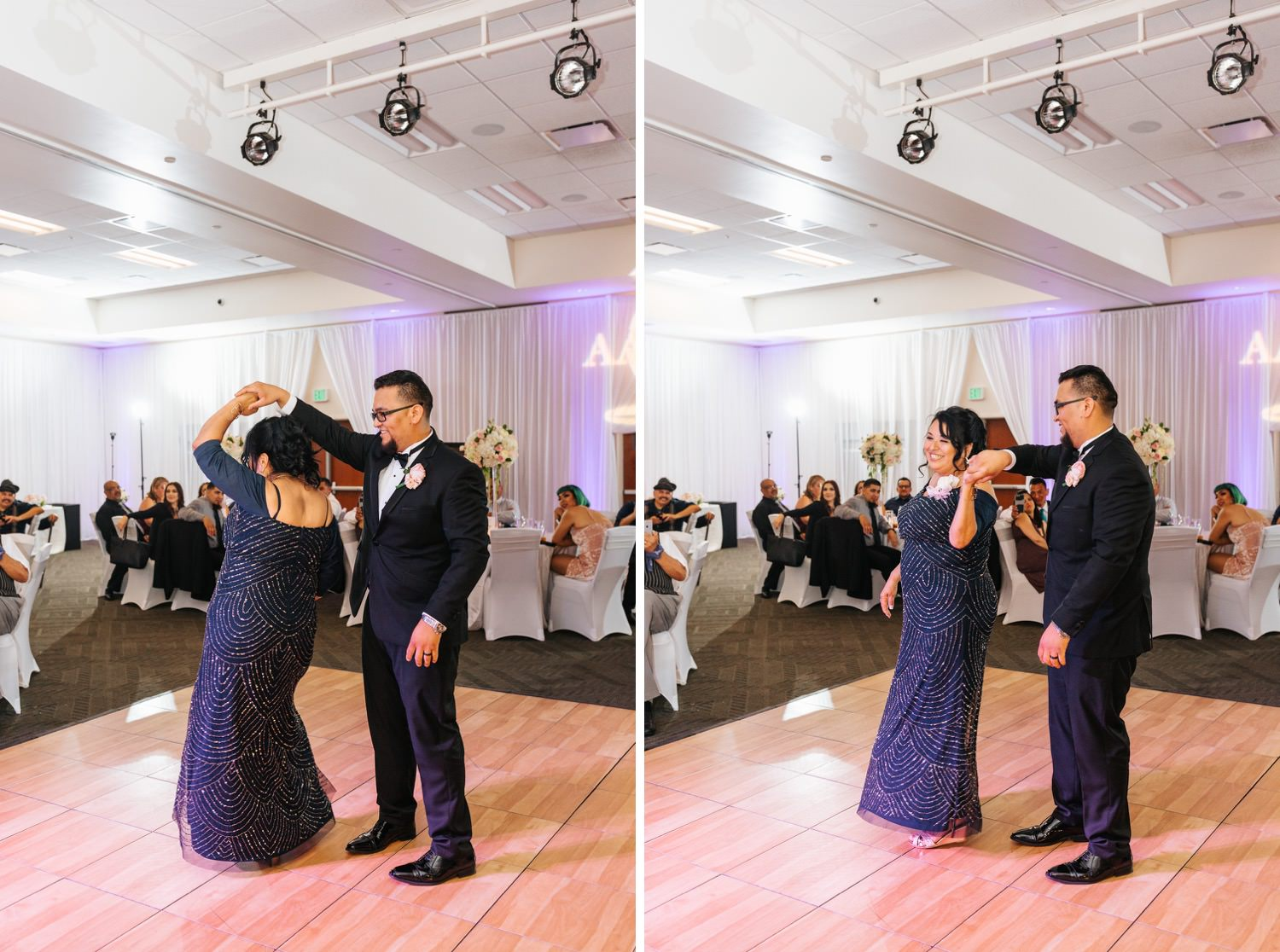 Groom dances with his mom - https://brittneyhannonphotography.com