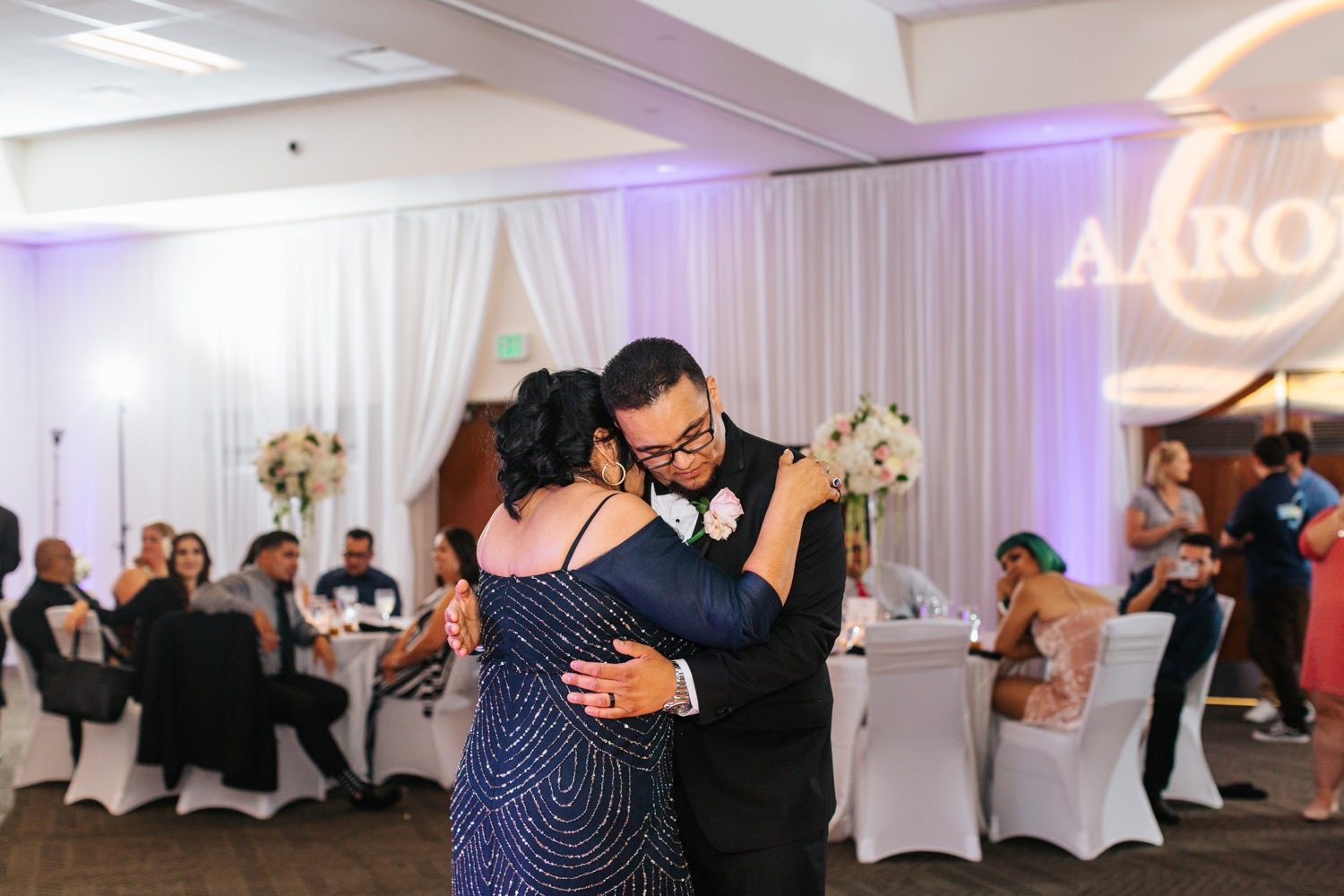 Wedding Reception - Mother and Son Dance - https://brittneyhannonphotography.com